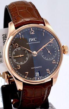 萬國 (IWC) [NEW] Portugieser Automatic IW500702 (Retail:HK$186,000) ~ SPECIAL OFFER: HK$121,000.