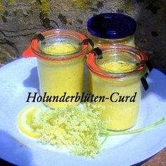 Holunderblüten-Curd Rezept | Küchengötter