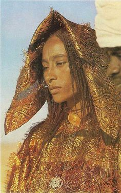 Women of Toubou ethnicity, Chad
