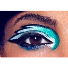 Philadelphia Eagles Makeup Look How-To | COVERGIRL found on Polyvore featuring polyvore, beauty products, makeup, eye makeup, eyes, covergirl eye makeup, covergirl cosmetics and covergirl makeup