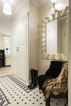 прихожая в интерьере однокомнатной квартиры 29 кв. м.