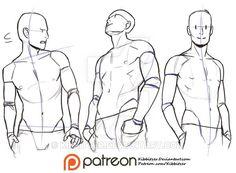 Hands in the pockets Reference sheet by Kibbitzer.deviantart.com on @DeviantArt