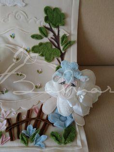 Minik kuzu oyuncağı ile Polar bebek battaniyesi  Baharca tasarım  handmade
