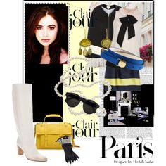 """Paris Chic for August Girls"" by agathap on Polyvore"