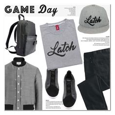 """""""60 Second Style: Game Day"""" by latch-apparel-co ❤ liked on Polyvore featuring Maison Margiela, Ermenegildo Zegna, TravelSmith, Royce Leather, men's fashion and menswear"""