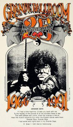 Grande Ballroom 25th Anniversary Poster | Mark Arminski