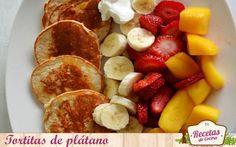 Tortitas de plátano (perfectas para un brunch)