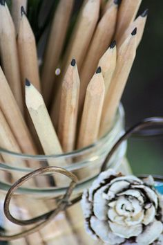 gift, bouquets of sharpened pencils, schools, fall, school suppli, newli sharpen, thing, back to school, sharpen pencil