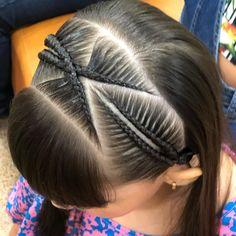 Black Girl Braids, Girls Braids, Elegant Hairstyles, Braided Hairstyles, Baby Hair Cut Style, Basketball Hairstyles, Lil Girl Hairstyles, Girl Hair Dos, Beautiful Braids