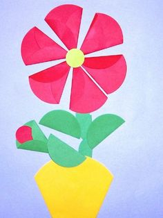 Inspire your kids to discover the creative world of paper crafts for weekend or holiday fun. These awesome yet easy DIY paper crafts for kidsguarantee great fun and learning too. Easy Paper Crafts, Paper Crafts For Kids, Diy Paper, Diy And Crafts, Arts And Crafts, Kindergarten Coloring Pages, Circle Crafts, Spring Projects, Creative Pictures