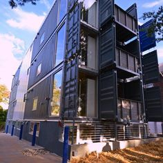 Inside D.C.'s First Shipping Container Apartments