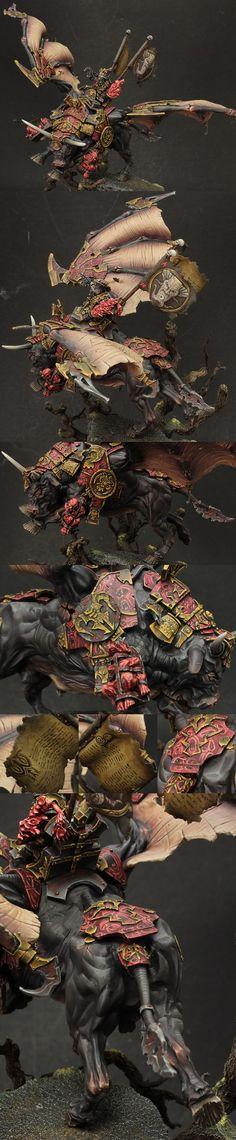 Drazhoath The Ashen, Silver at 2014 golden demon 2nd set of images