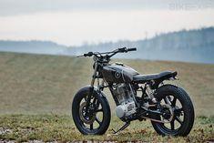 Scrambler motorcycle