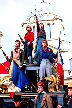 red, the blood of angry men! black, the dark of ages past! ~les miserables