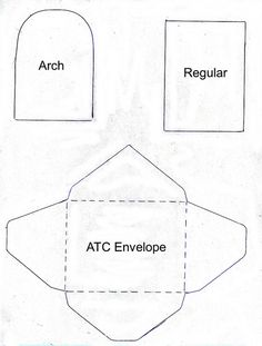 ATC envelope template