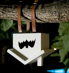 Really cute bat house! fledermausHAUS