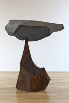 A sculpture by the late northern Californian artist, J.B. Blunk, as seen at Blum & Poe Gallery, L.A.