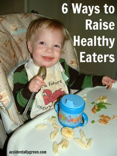 One mom's tried and true techniques for raising kids with healthy eating habits.