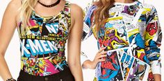 Geek Fashion: X-Men Bodysuit & Marvel Pullover