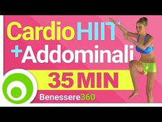 Allenamento Cardio HIIT Intenso ed Esercizi Addominali per Dimagrire la Pancia e Perdere Peso - YouTube