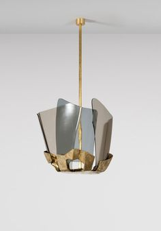 vincenzo de cotiis cast brass fixture, carpenter's workshop gallery