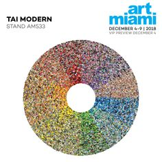 Join at Dec. Pictured is Jason Salavon's <Color> Wheel, created using software processes of the artist's own design. Modern Miami, Generative Art, Art And Technology, New Perspective, Data Visualization, Art Fair, Fine Art Gallery, Asian Art, Contemporary Art