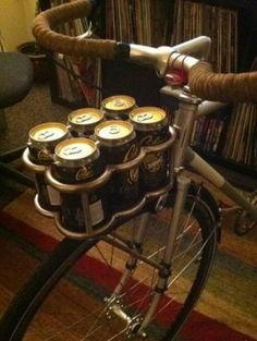 Now that's a bicycle basket.