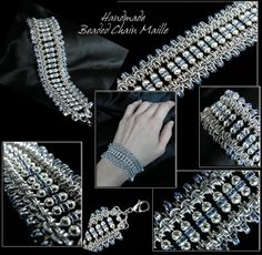 Free Chainmail Patterns Chain Maille | Chain Maille Jewelry: Bracelet
