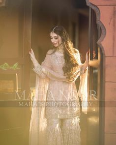 "Maha Wajahat Khan on Instagram: ""Gorgeous Rabia 💕 #mahasphotography @faizas.salon @mahawajahatkhan @mahasdesignofficial  @mahasphotographyofficial  Designer @shazia_kiyani…"" Nikkah Dress, Pakistani Wedding Dresses, Bridal Outfits, Bridal Dresses, Wedding Dresses For Girls, Girls Dresses, Bridal Dress Design, Indian Fashion, Womens Fashion"