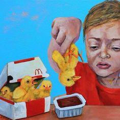 Don't Want To Eat Dead Chicken Nuggets! Go Vegan Save The World Love Animals Friends Don't Eat Them Keep Them Off Your Plate! Go Vegan Choose Vegan Vegan Bodybuilder Beast Mode Vegan Memes, Vegan Quotes, Vegetarian Quotes, Vegan Art, Why Vegan, Baby Chickens, Stop Animal Cruelty, Vegan Animals, Animal Welfare