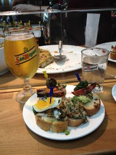 After enduring the cold rain, we headed to Torvehallerne, an indoor farmers market, for some warmth and food. We ate at Tapa del Toro. Yes, it was as good as it looks! I highly recommend a trip to this market.
