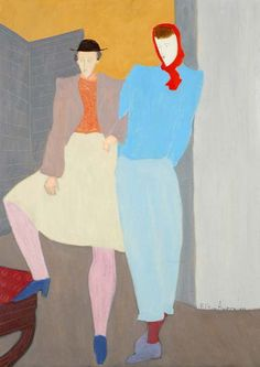 Greenwich Villagers, 1946 by Milton Avery