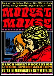 GigPosters.com - Modest Mouse - Black Heart Procession - Shins, The