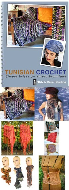 Tunisian crochet ideas