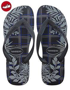 Havaianas Herren/Damen Flip Flops Top Mix Grösse 43/44 EU (41/42 Brazilian) Ice Blau Zehentrenner für Männer/Frauen Bb4Kok
