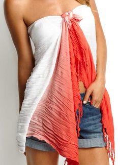 Byron sarong Sunburn Swimwear #sunburnultimateresort