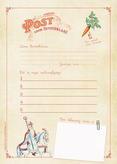 Verlanglijstje voor Sinterklaas van Pimpelmees