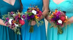 Bouquets by Easley Designs #EasleyDesigns #FloralDesign #Coordination #Weddings #Events