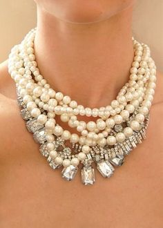 Pearls plus sparkle