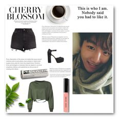 """""""*This is who I am. Nobody said you had to like it.~*"""" by hyuna-yoona ❤ liked on Polyvore featuring Ksubi, WithChic, AlexaChung and Bobbi Brown Cosmetics"""