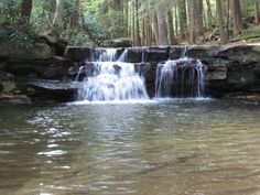 Fans of this creekside swimming hole in Swallow Falls State Park say getting here is a fun and easy hike for the whole family.