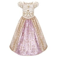 now this is gorgeous and more practically priced! only $49.50 which is still high but not for Disney lol.  It's Rapunzel's wedding gown.
