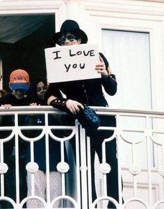 I LOVE U MORE MICHAEL