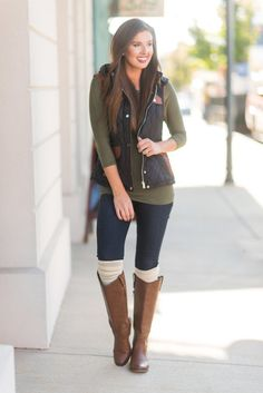 Super cute! I don't own boots that high and probably never will... comfort thing.