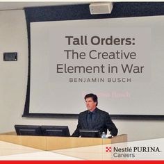 To conclude honoring our country's (and company's) veterans this week, we welcomed former U.S. Marine, actor and author, Benjamin Busch, to St. Louis today to discuss with us his experiences in Iraq and Afghanistan. #VeteransDay