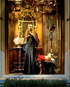 Ralph Lauren Beverly Hills CA Fall Collection 2012 Window 5