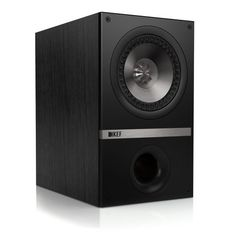 """KEF Q100BL Bookshelf Speaker (Pair, Black Oak) by KEF. $549.99. Whether as main speakers, music speakers for your study or family room, rear speakers in a home theatre system or general purpose speakers for multi-room set-ups, the Q100 bookshelf from KEF opens up a world of audiophile quality sound at a surprisingly affordable price. Product features: newly engineered KEF patented 5.25"""" Uni-Q driver which disperses sound over a wider range for optimal sound throughout your..."""