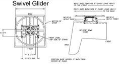How to convert a regular chair into a glider