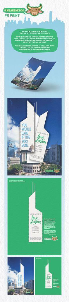 WE ARE HK TOO #printad #advertising #hongkong #hk #BankOfChina #skyscraper #buffalo