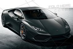 New Lamborghini Inspired by Origami?